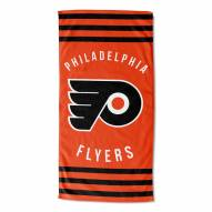 Philadelphia Flyers Stripes Beach Towel