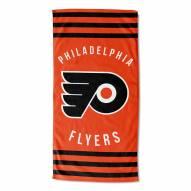 Philadelphia Flyers Stripes Beach Towel