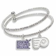 Philadelphia Flyers Support HFC Crystal Bracelet