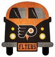 Philadelphia Flyers Team Bus Sign