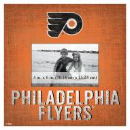 "Philadelphia Flyers Team Name 10"" x 10"" Picture Frame"