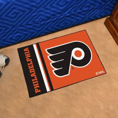 Philadelphia Flyers Uniform Inspired Starter Rug
