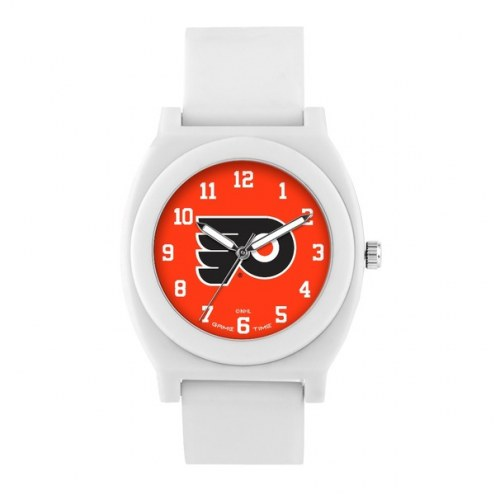 Philadelphia Flyers Unisex Fan White Watch