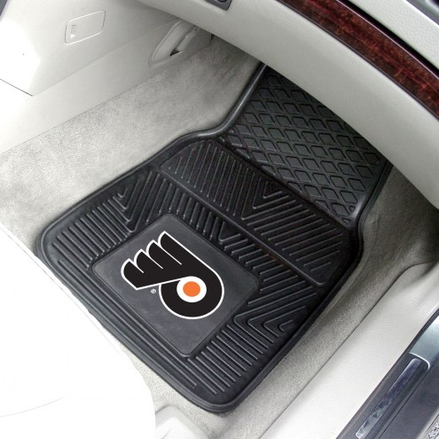 Philadelphia Flyers Vinyl 2-Piece Car Floor Mats