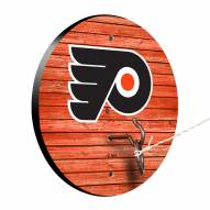 Philadelphia Flyers Weathered Design Hook & Ring Game