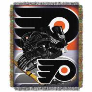 Philadelphia Flyers Woven Tapestry Throw Blanket
