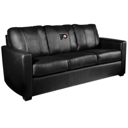 Philadelphia Flyers XZipit Silver Sofa
