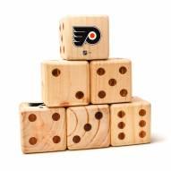 Philadelphia Flyers Yard Dice