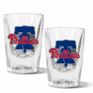 Philadelphia Phillies 2 oz. Prism Shot Glass Set