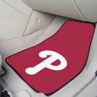 Philadelphia Phillies 2-Piece Carpet Car Mats