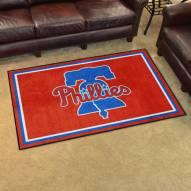 Philadelphia Phillies 4' x 6' Area Rug