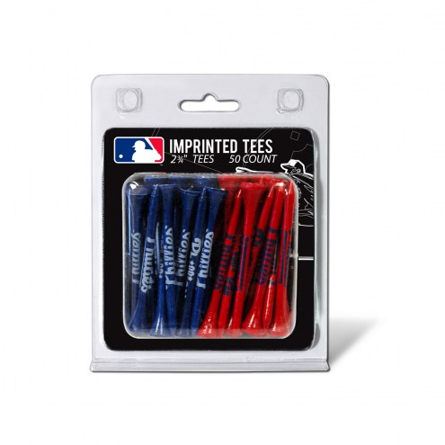 Philadelphia Phillies 50 Golf Tee Pack