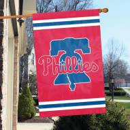 Philadelphia Phillies Applique 2-Sided Banner Flag