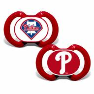 Philadelphia Phillies Baby Pacifier 2-Pack