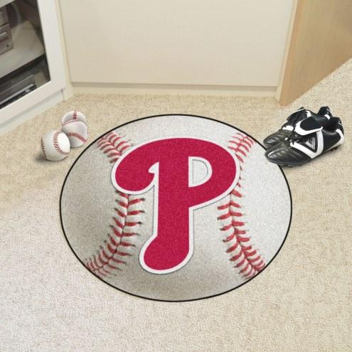Philadelphia Phillies Baseball Rug