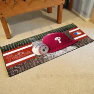 Philadelphia Phillies Baseball Runner Rug