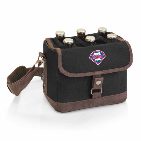 Philadelphia Phillies Beer Caddy Cooler Tote with Opener