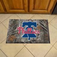 Philadelphia Phillies Camo Scraper Door Mat