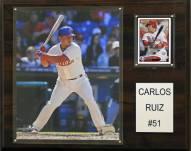 "Philadelphia Phillies Carlos Ruiz 12"" x 15"" Player Plaque"