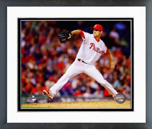 Philadelphia Phillies Cole Hamels Action Framed Photo