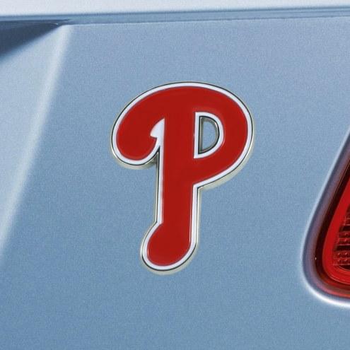 Philadelphia Phillies Color Car Emblem
