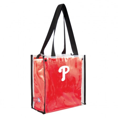 Philadelphia Phillies Convertible Clear Tote