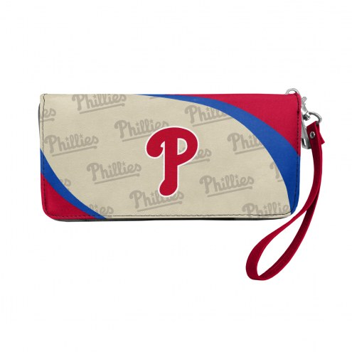 Philadelphia Phillies Curve Zip Organizer Wallet