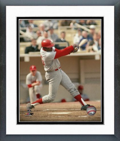 Philadelphia Phillies Dick Allen Action Framed Photo