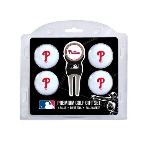 Philadelphia Phillies Golf Ball Gift Set