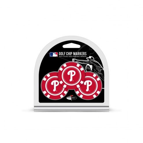 Philadelphia Phillies Golf Chip Ball Markers