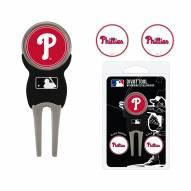 Philadelphia Phillies Golf Divot Tool Pack