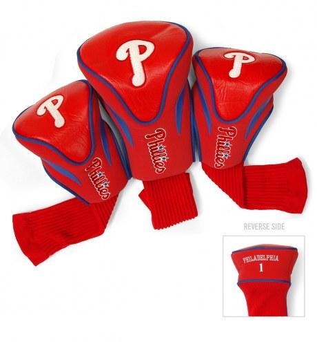 Philadelphia Phillies Golf Headcovers - 3 Pack
