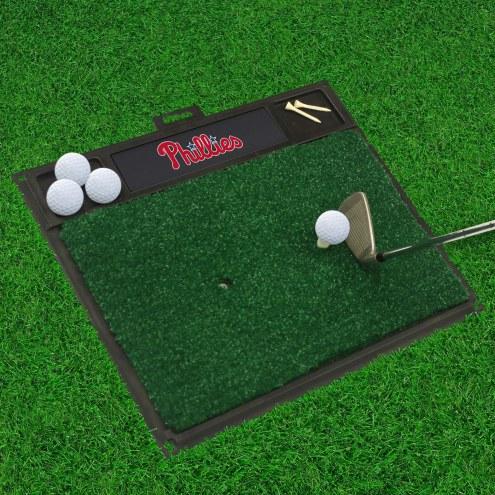 Philadelphia Phillies Golf Hitting Mat