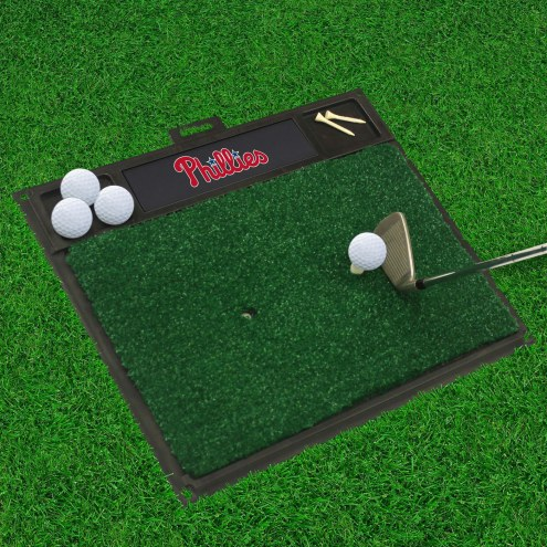 Philadelphia Phillies Golf Hitting Mat