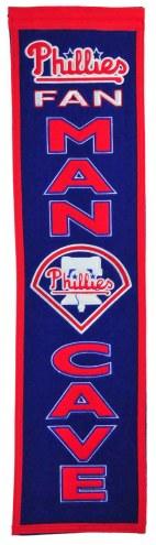 Philadelphia Phillies Man Cave Banner