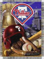 Philadelphia Phillies MLB Woven Tapestry Throw Blanket