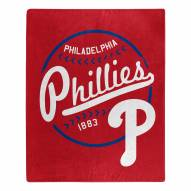 Philadelphia Phillies Moonshot Raschel Throw Blanket