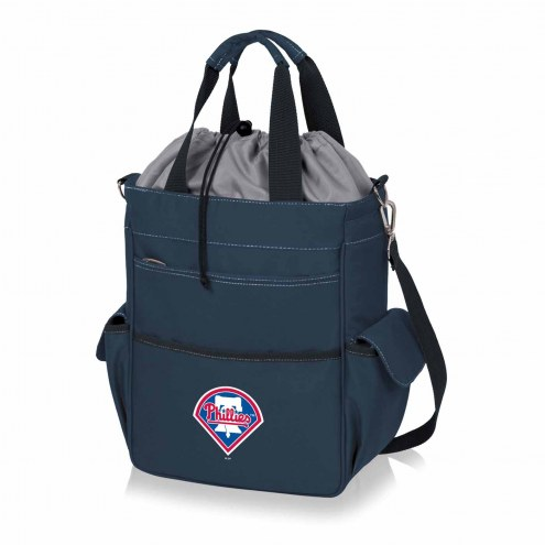Philadelphia Phillies Navy Activo Cooler Tote