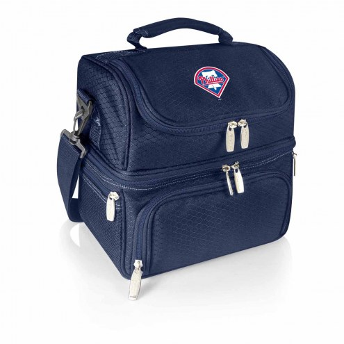 Philadelphia Phillies Navy Pranzo Insulated Lunch Box