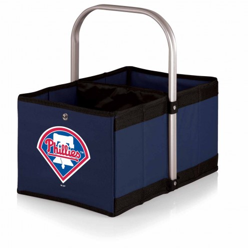 Philadelphia Phillies Navy Urban Picnic Basket