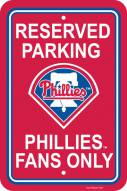 Philadelphia Phillies Parking Sign