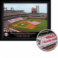 Philadelphia Phillies 11 x 14 Personalized Framed Stadium Print