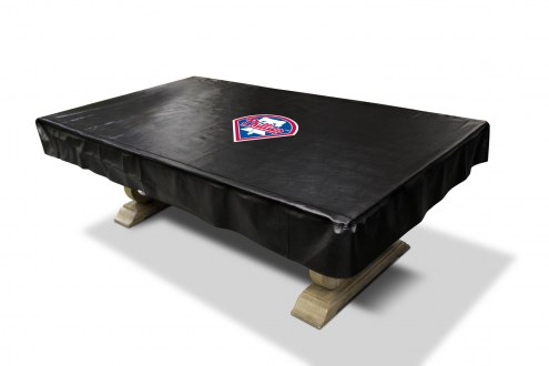 Philadelphia Phillies Pool Table Cover