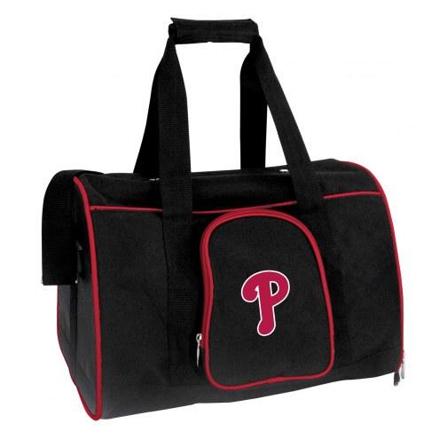 Philadelphia Phillies Premium Pet Carrier Bag