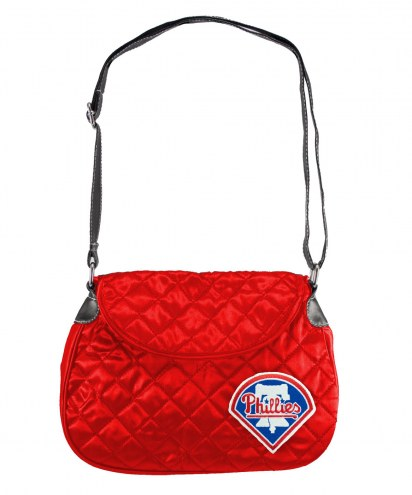 Philadelphia Phillies Quilted Saddle Bag