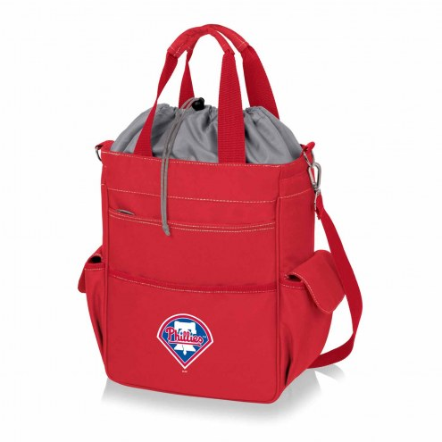 Philadelphia Phillies Red Activo Cooler Tote