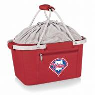 Philadelphia Phillies Red Metro Picnic Basket