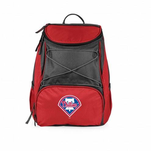 Philadelphia Phillies Red PTX Backpack Cooler
