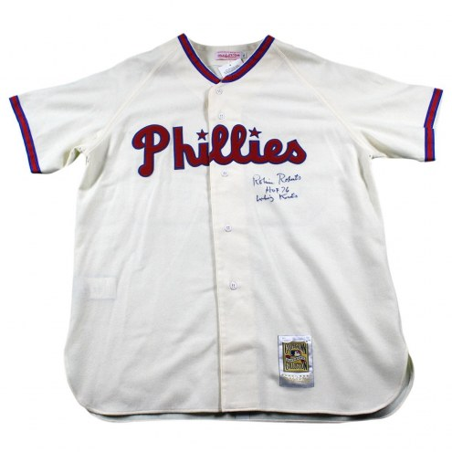 Philadelphia Phillies Robin Roberts Signed Mitchell and Ness Jersey