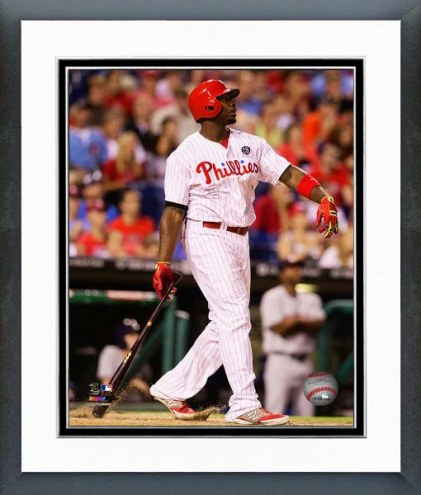 Philadelphia Phillies Ryan Howard Action Framed Photo